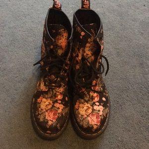 Dr. Martens 1460 floral boots